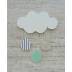 Felhős dekor csomag