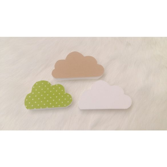 Felhős 3db dekor csomag