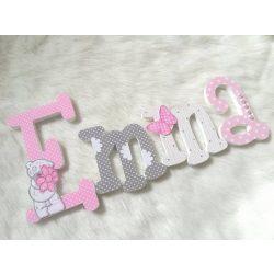 """Emma"" stílusú dekor betűk"