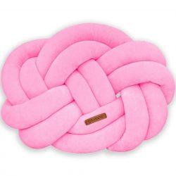 Precel csomó párna pink