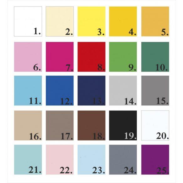 Szívecskés falmatrica szett 25 színben