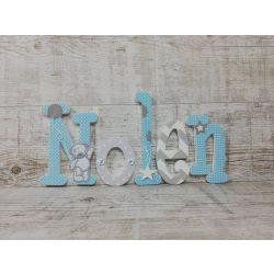 Nolen stílusú dekor betűk bármilyen névvel!