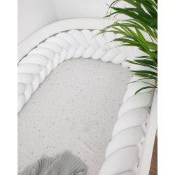 Fonott rácsvédő (kalász) több méretben fehér