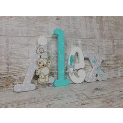 Alex stílusú dekor betűk bármilyen névvel!