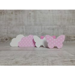 Felhőcskés-pillangós dekor csomag!