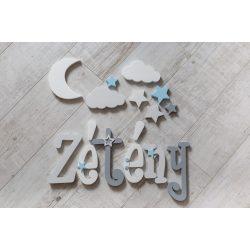 """""""Zétény"""" minimál stílusú dekor betűk bármilyen névvel!"""