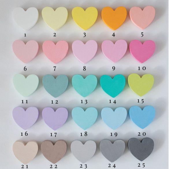 Egyedi festett szám 24 féle szín lehetőség