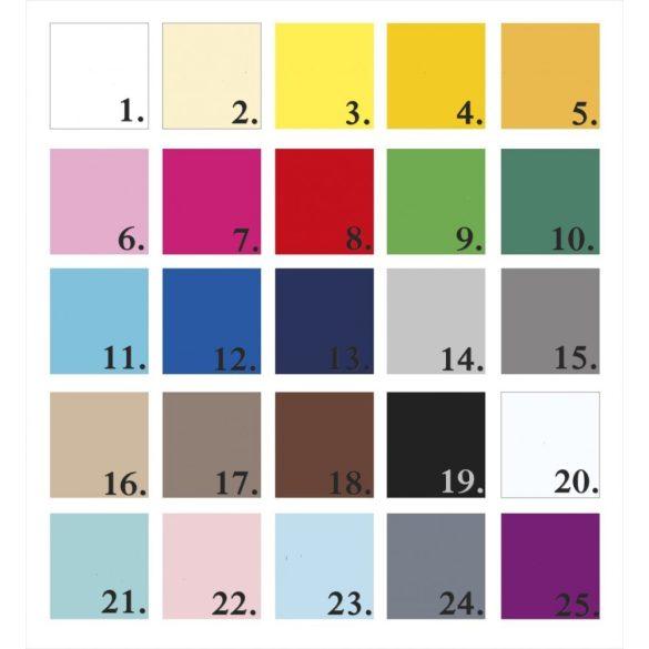 Csillagos (tele) falmatrica szett 25 színben